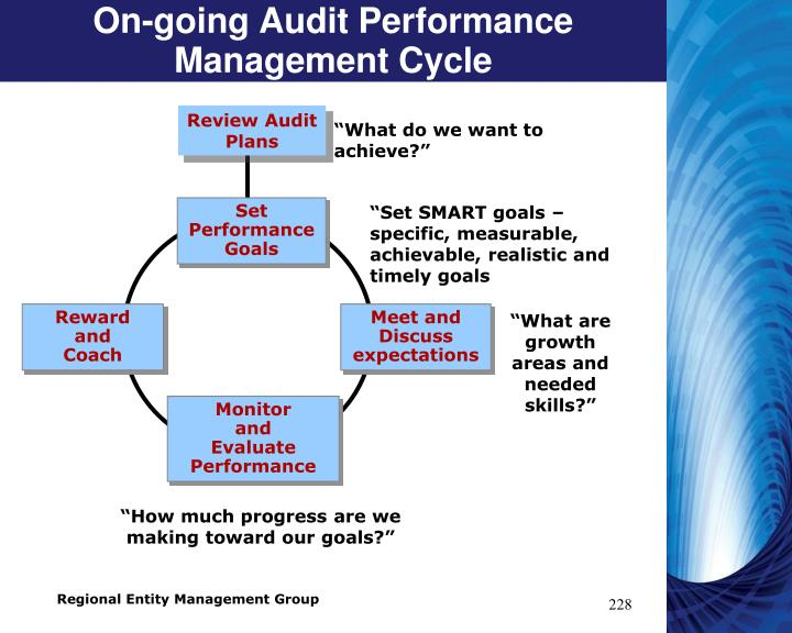 On-going Audit Performance Management Cycle