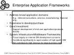 enterprise application frameworks