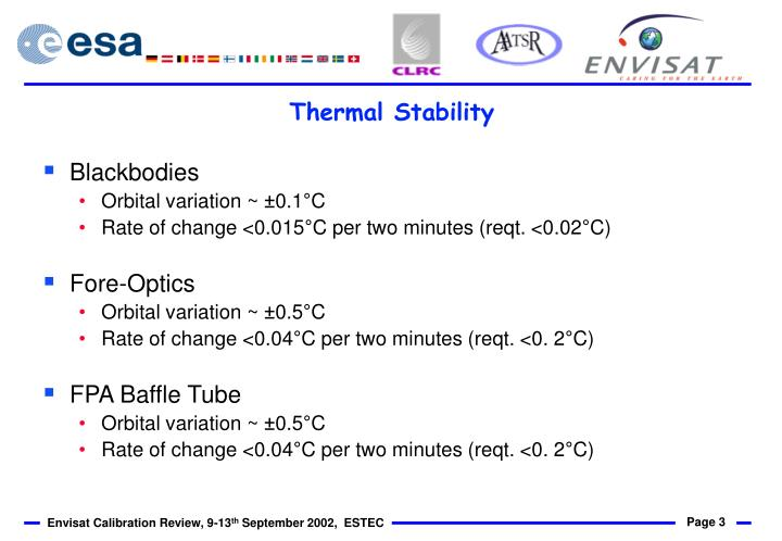 Thermal stability