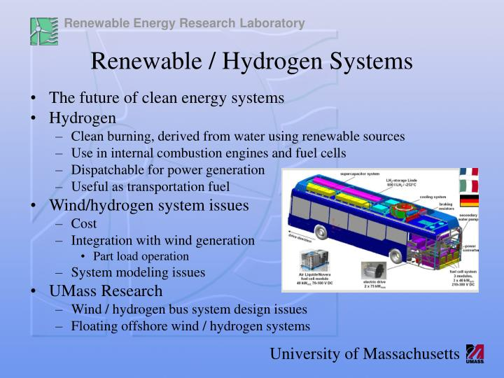 The future of clean energy systems