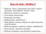 bases de datos medline 2
