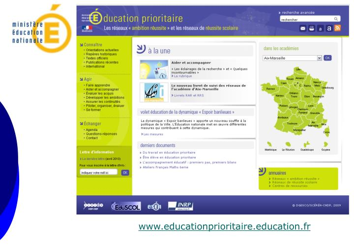 www.educationprioritaire.education.fr