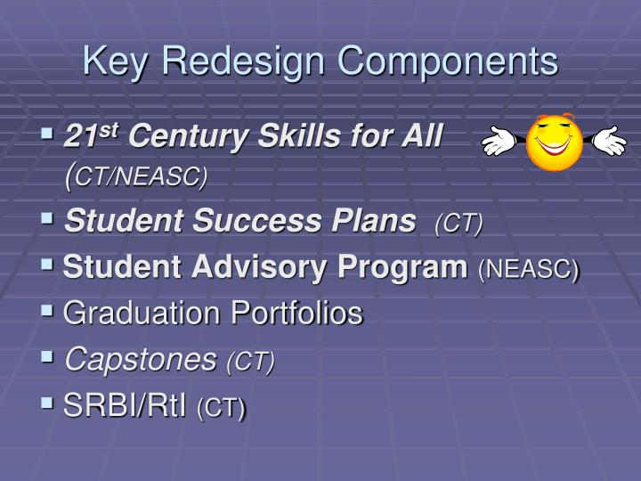 Key Redesign Components