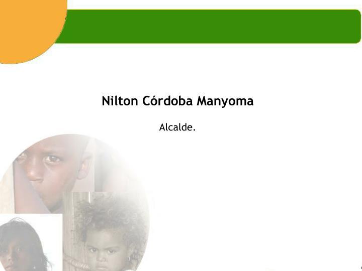 Nilton Córdoba Manyoma
