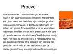 proeven1