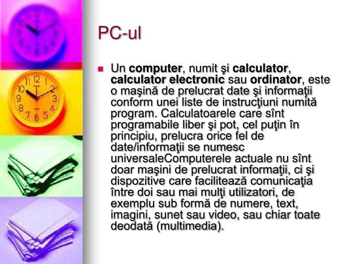PC-ul