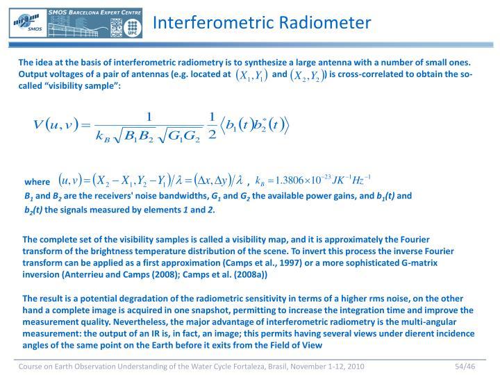 Interferometric Radiometer