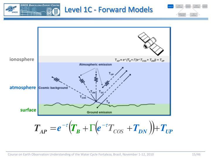 Level 1C - Forward Models