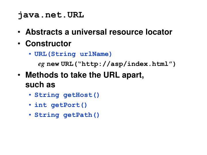 java.net.URL
