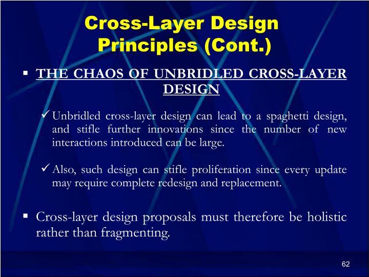 Cross-Layer Design