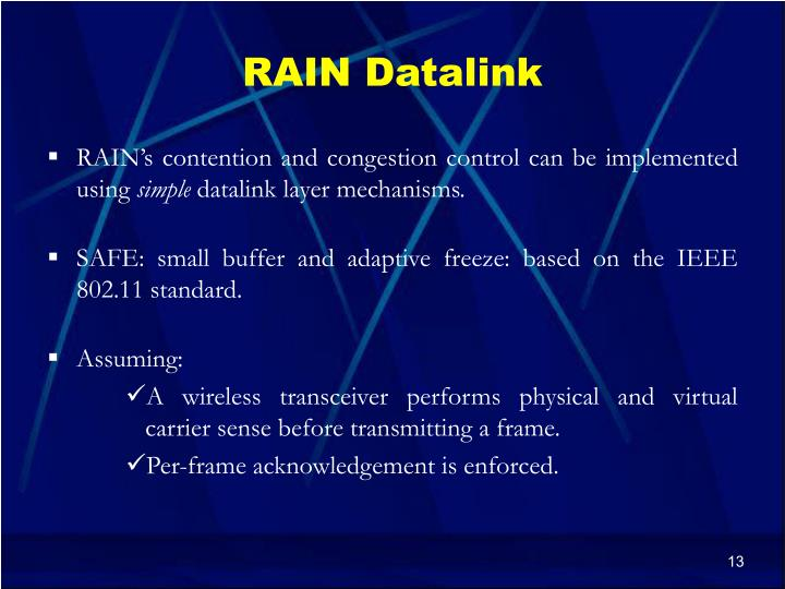 RAIN Datalink