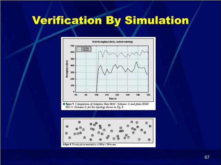 Verification By Simulation