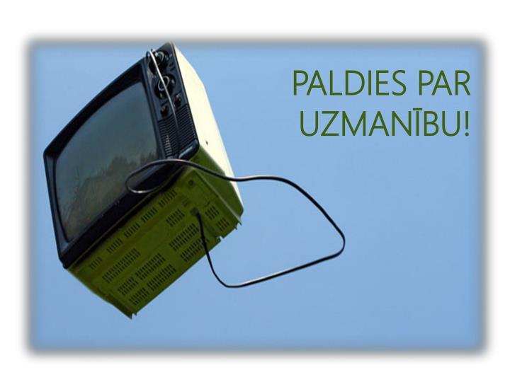PALDIES PAR