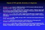 impact of hiv genetic diversity on diagnosis