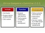 clinical competency committee c c c