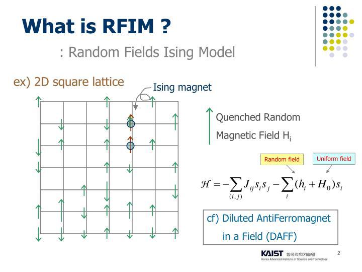 What is rfim