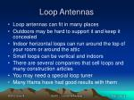loop antennas