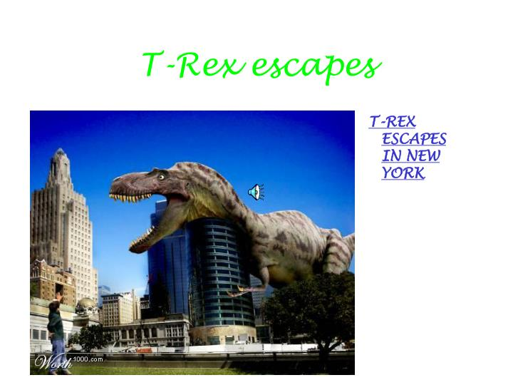 t rex escapes n.