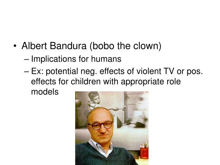 Albert Bandura (bobo the clown)