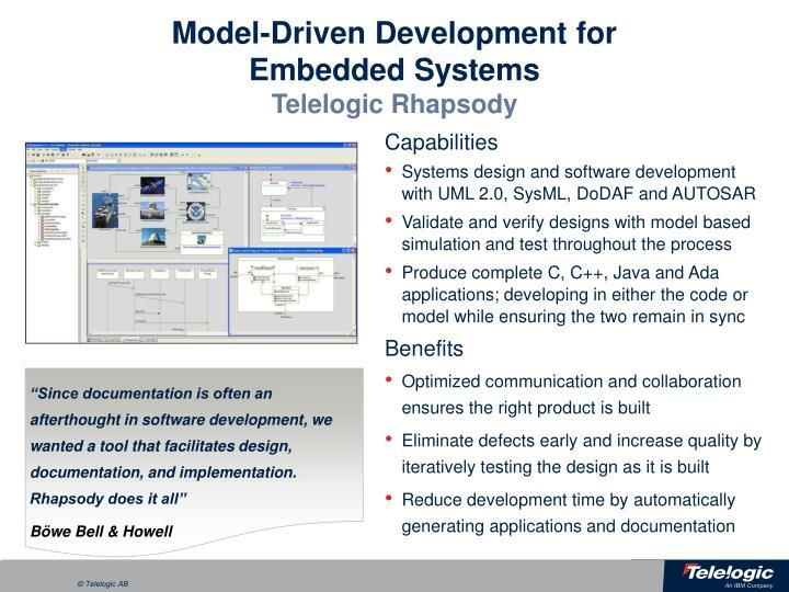 Model-Driven Development for