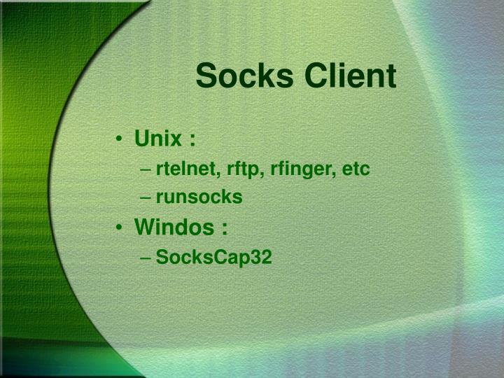 Socks Client