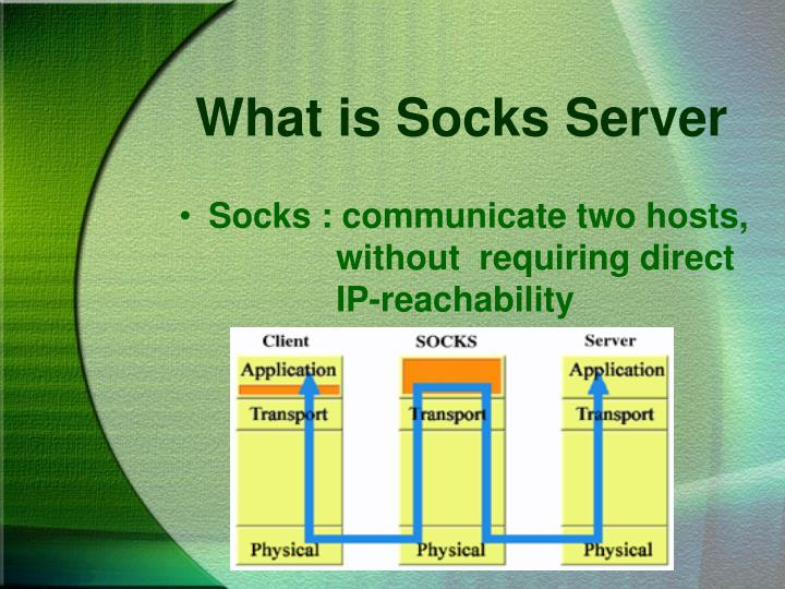 What is Socks Server