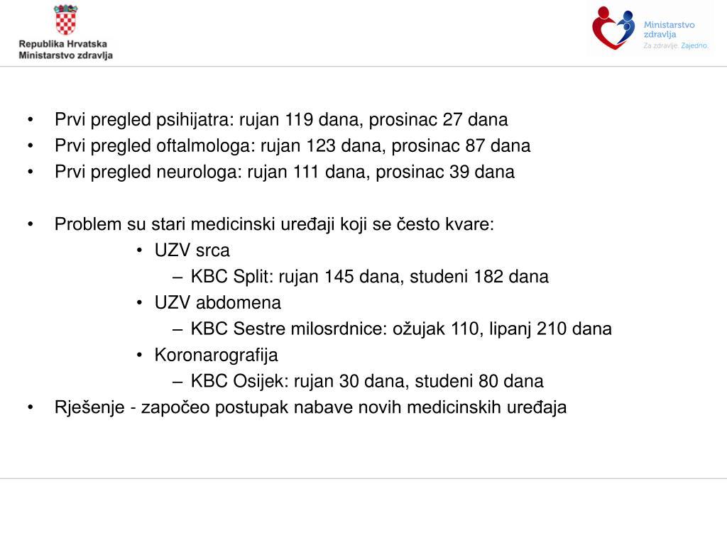 PPT - OSVRT na 2012  Prva godina rada ministra zdravlja prof