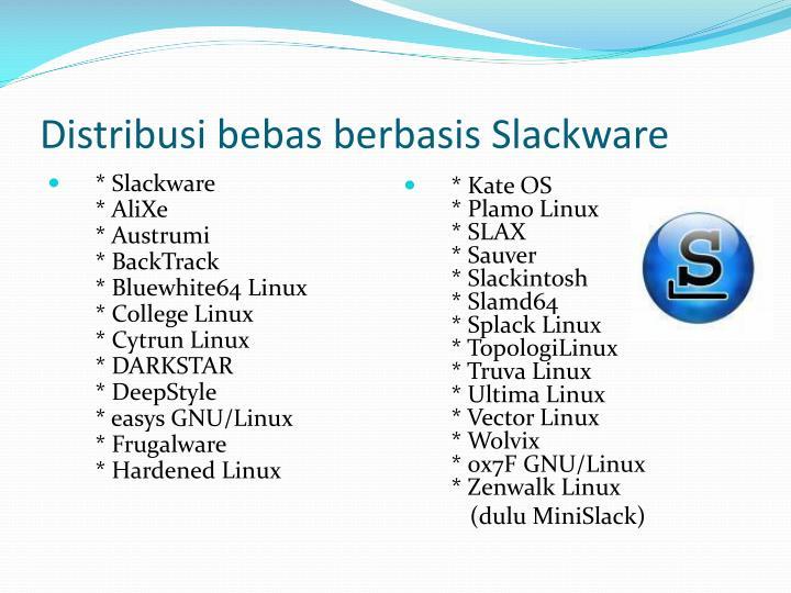 Distribusi bebas berbasis Slackware
