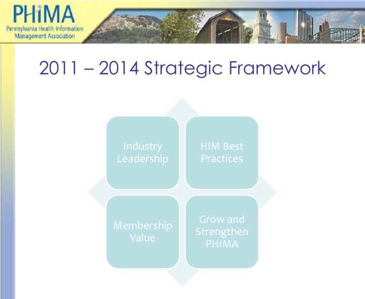 2011 – 2014 Strategic Framework