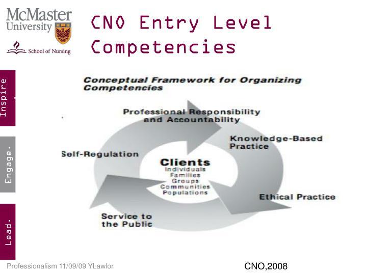 competencies betwen nursing levels