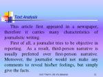 text analysis