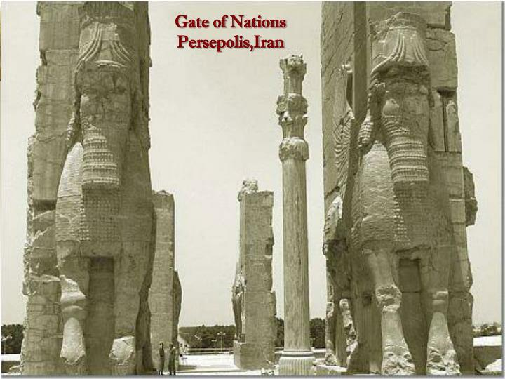 Ppt Gate Of Nations Persepolis Iran Powerpoint Presentation Free Download Id 4778766