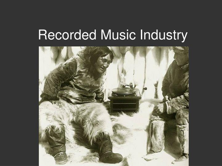 recorded music industry n.