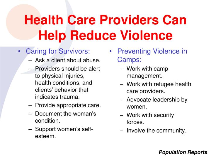 Caring for Survivors:
