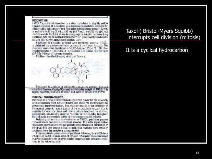 Taxol ( Bristol-Myers Squibb)