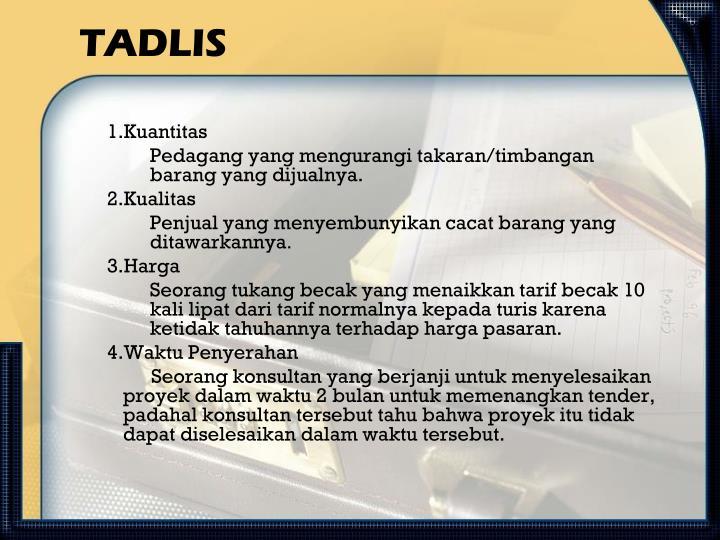 TADLIS