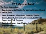 17 7 mexican food