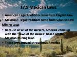17 9 mexican laws
