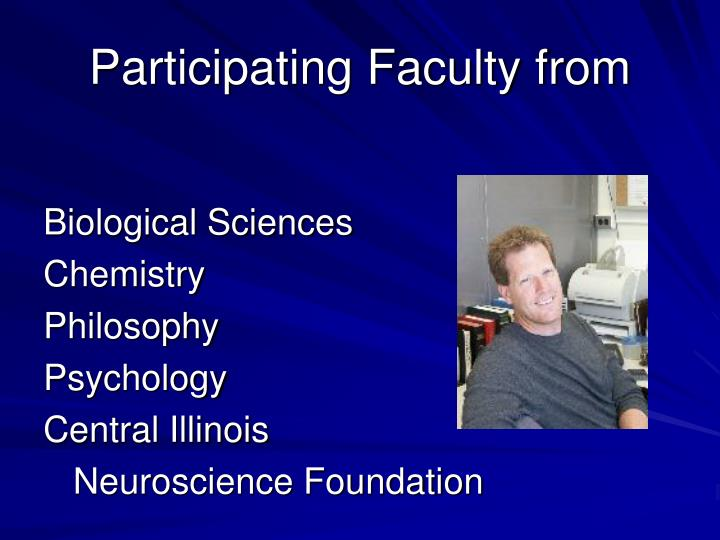 Participating Faculty from