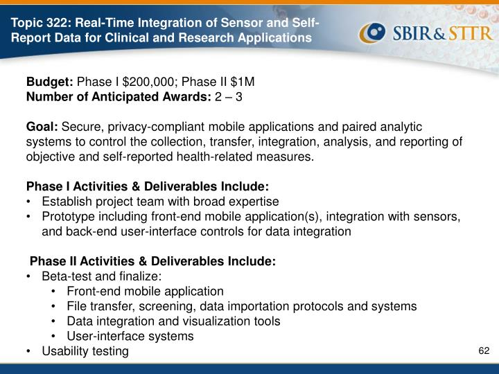 Topic 322: Real-Time Integration of Sensor and Self-Report Data for Clinical and Research Applications