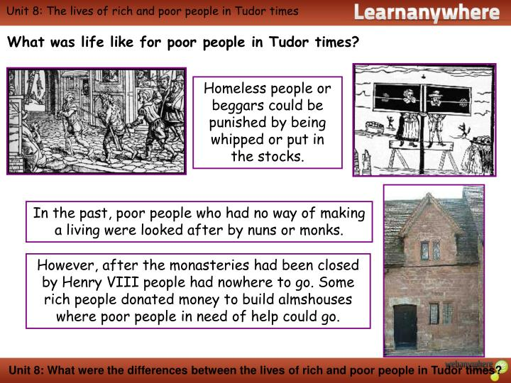 poor people in tudor times