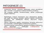 patogenez i