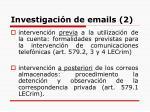 investigaci n de emails 2
