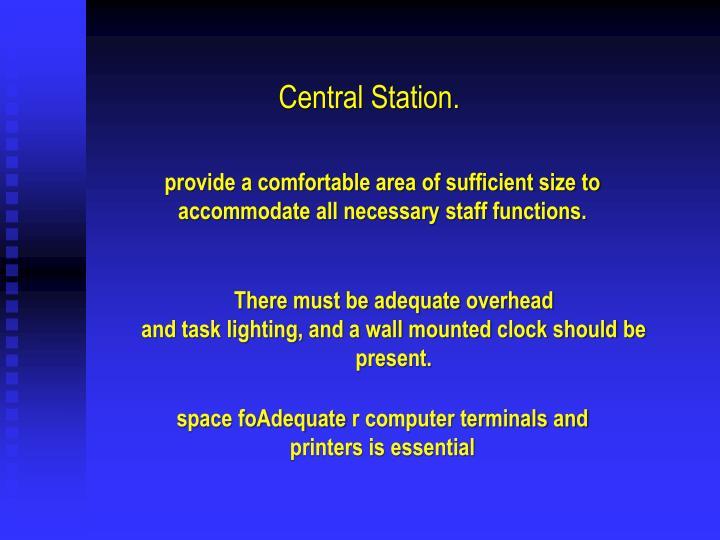 Central Station.