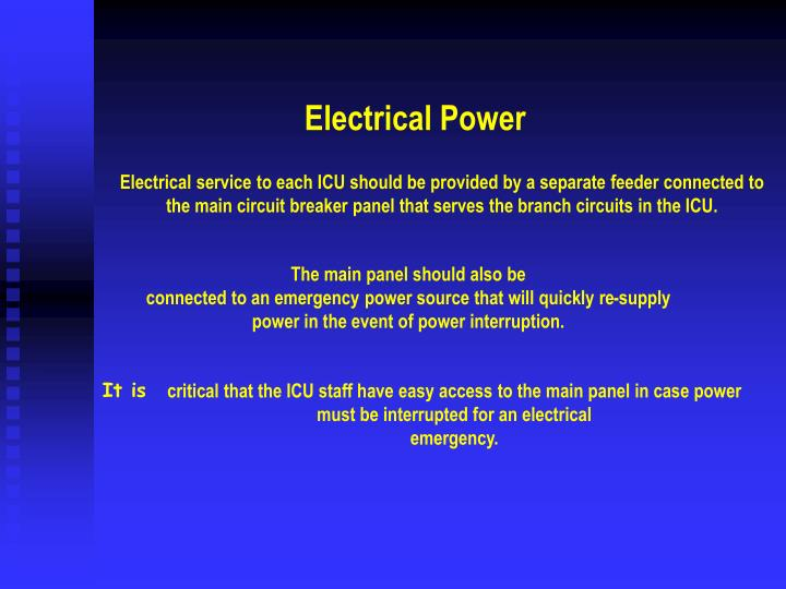 Electrical Power