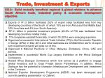 trade investment exports1
