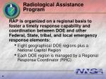 radiological assistance program