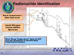 radionuclide identification