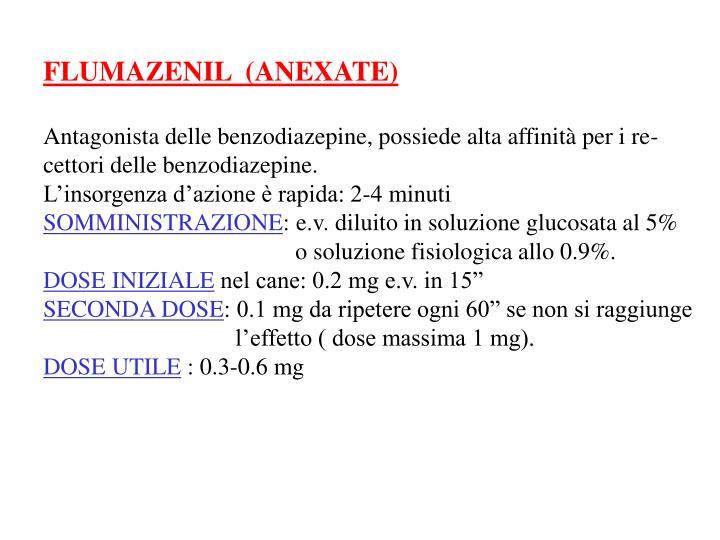 FLUMAZENIL  (ANEXATE)