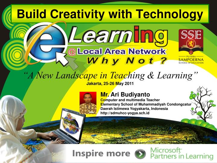 build creativity with technology n.